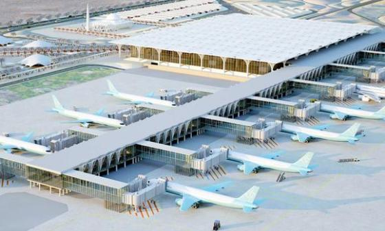 file-01-Artist's-rendition-of-Madinah's--International-Airport