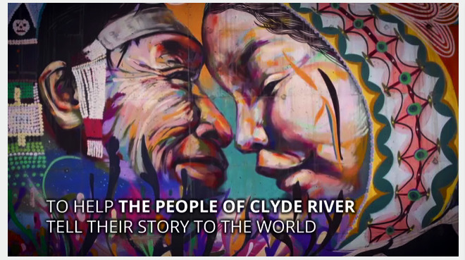 Get on board to help the Inuit people of Clyde River. Credit: Greenpeace screencap.
