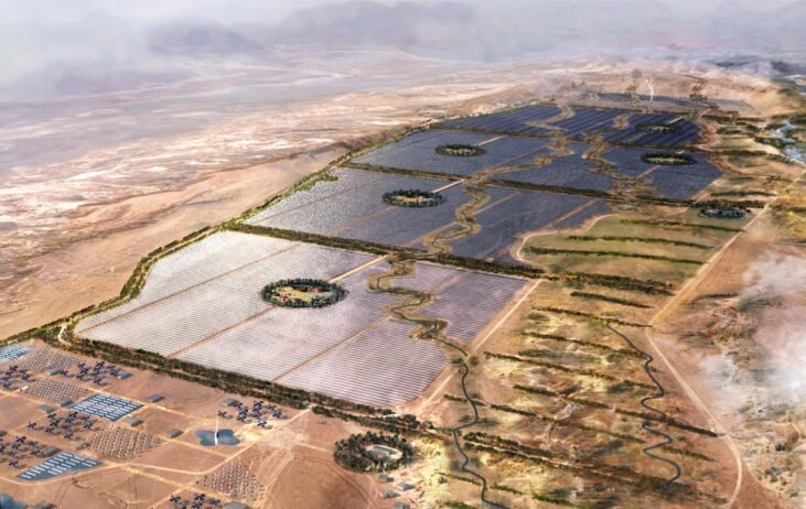 Ouarzazate CSP plant, Morocco. Credit: CSPWorld