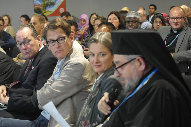 COP22 Interfaith Climate Change Statement Handover Ceremony. Credit: GreenFaith via Flickr