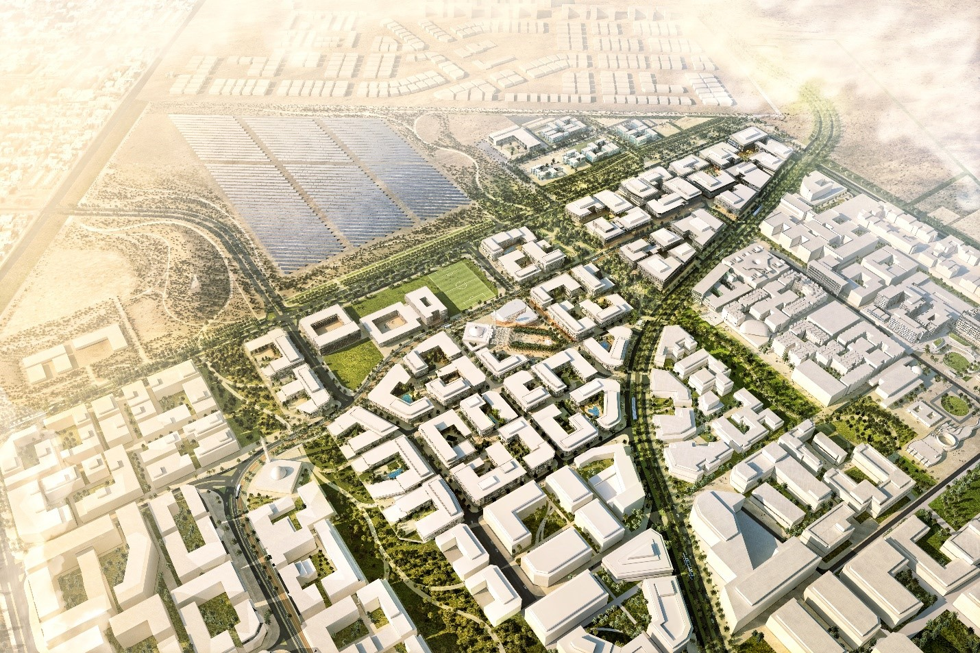 The magical evolution of Masdar City. Credit: CBT