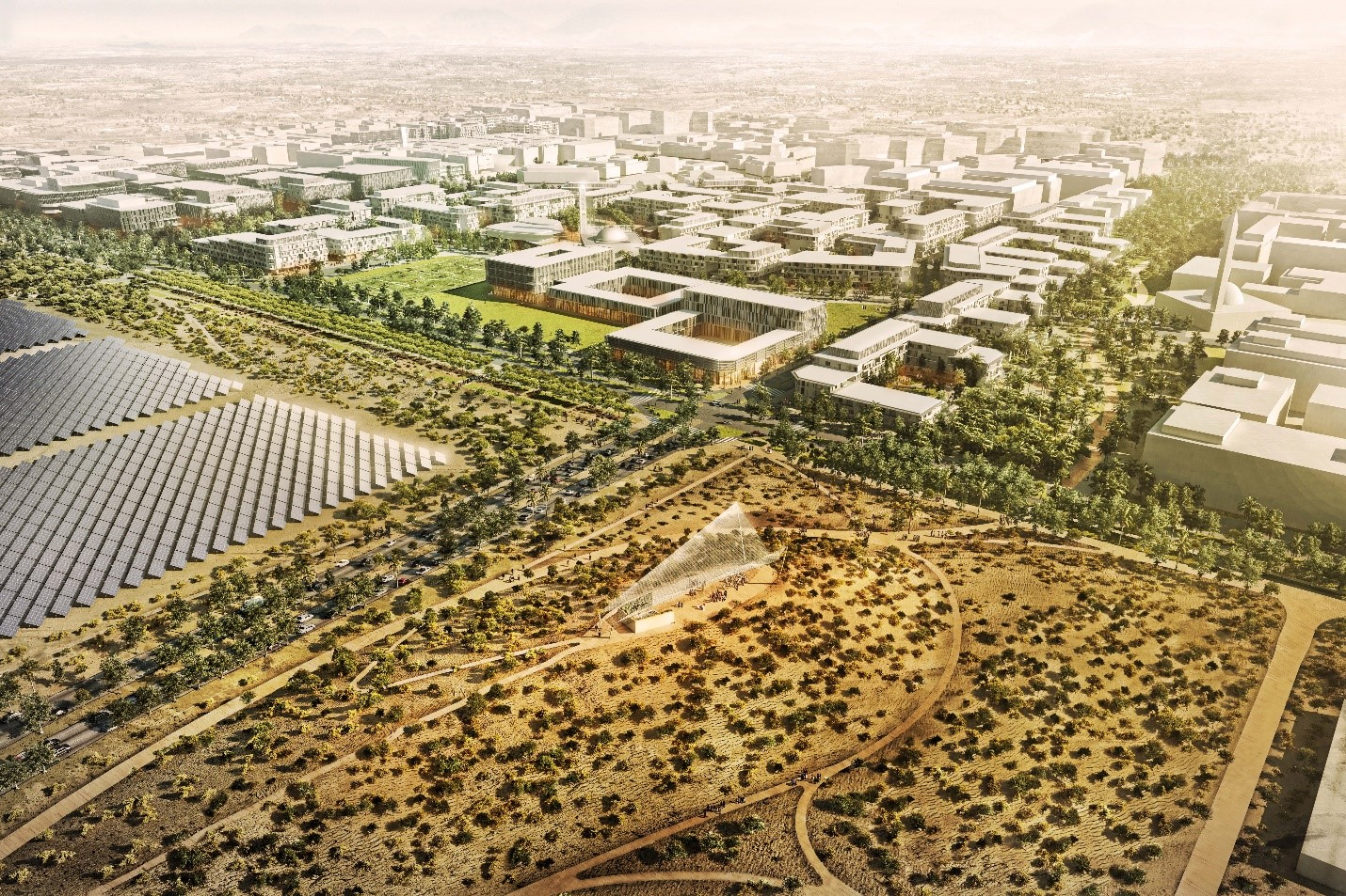 Masdar City Phase 2. Credit: CBT
