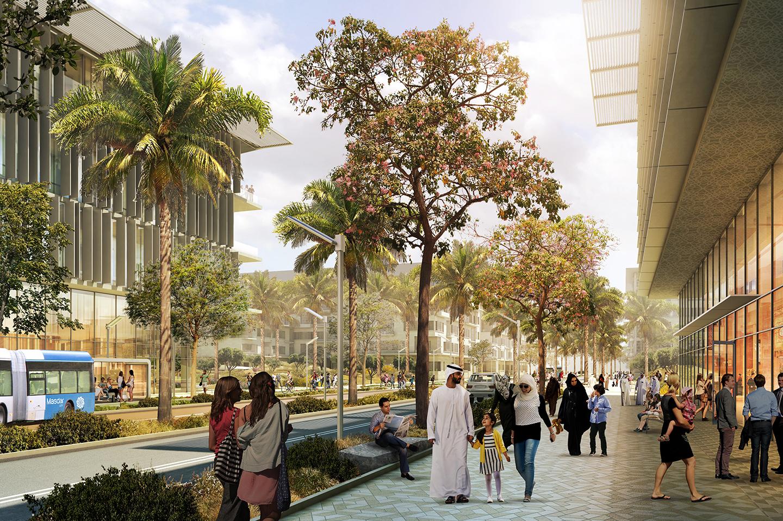 Masdar Phase 2 DMP. Credit: CBT